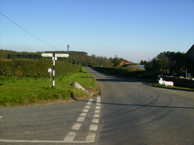 Crossroads near Coulton