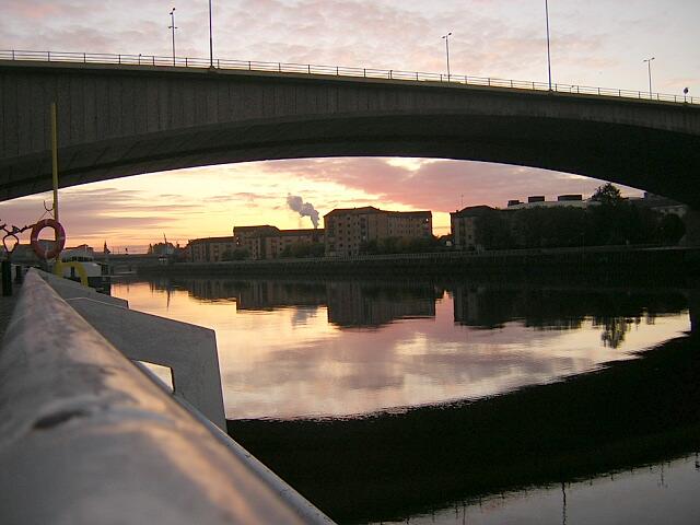 Sunrise Under Kingston Bridge