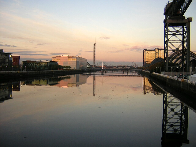 River Clyde at Finnieston