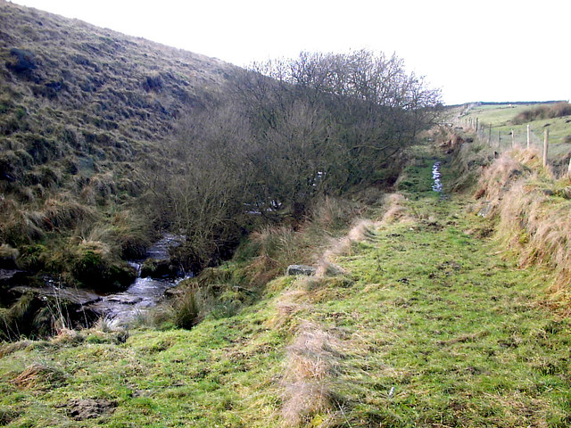 Footpath along Hippins Clough