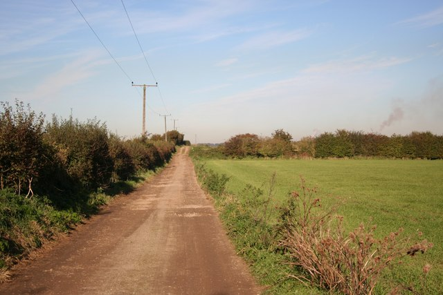 Track to Briggate Farm