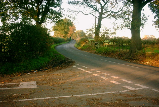 Country Lane meets B Road