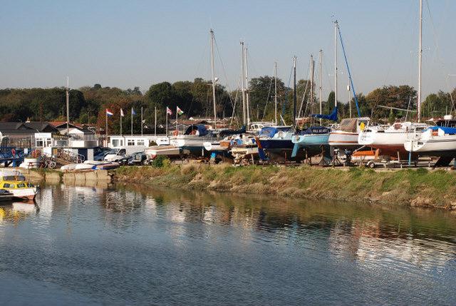 Yachts at Hoo Marina