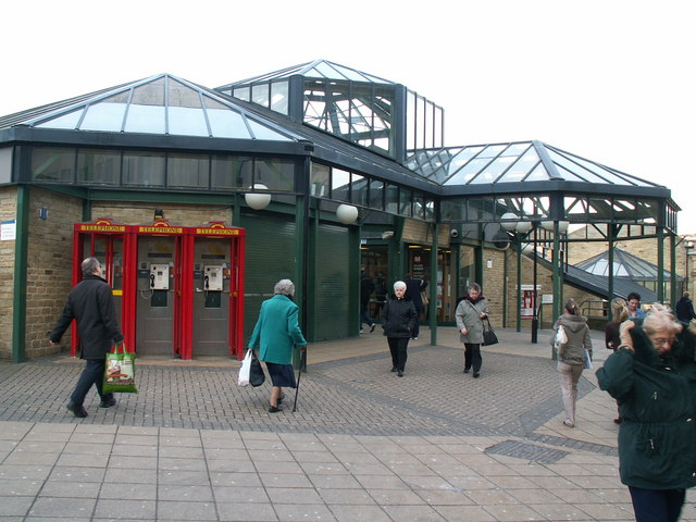 Entrance  to Halifax Bus Station