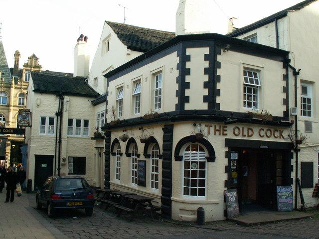 The Old Cock Inn, Old Cock Yard, Halifax