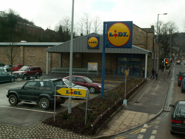 Lidl supermarket, Halifax Road, Todmorden