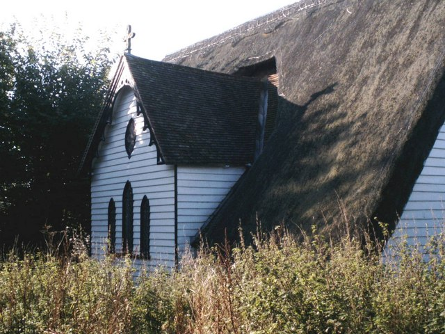 Thatched church at Upper Pond Street
