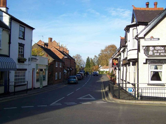 Junction of Park Street and Main Street, Market Bosworth