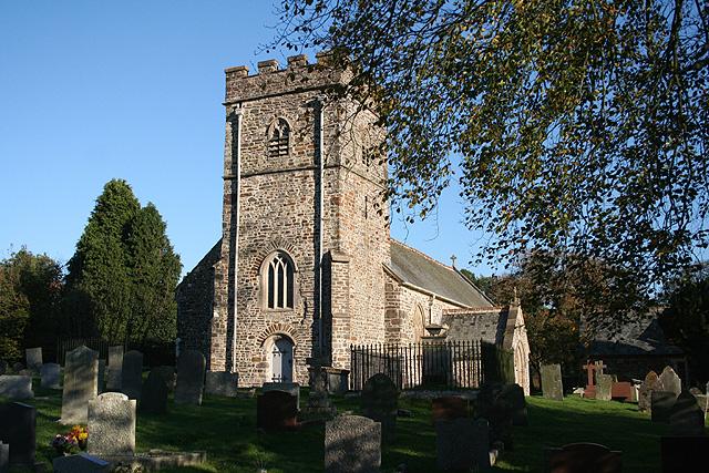 Rose Ash: St Peter's church