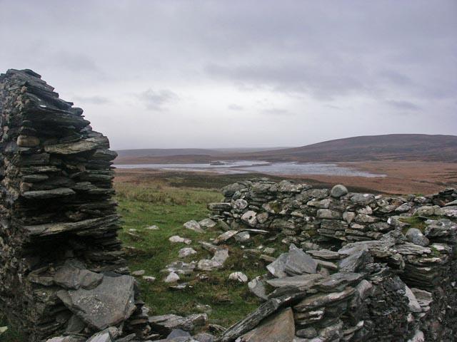 Ruined farmstead, Gleann Deas, Islay