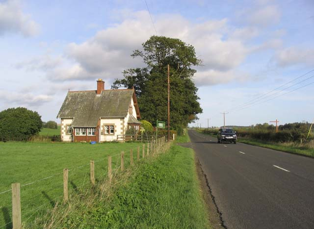 House beside the A698