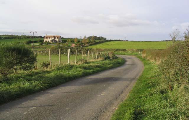 A minor road near Birgham