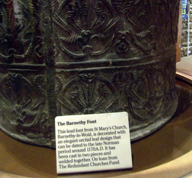 The Barnetby Font - Pattern Detail