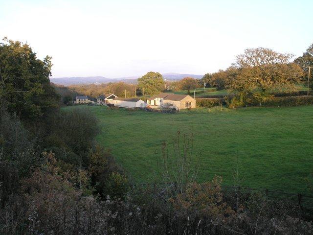 Fields near Blaenau