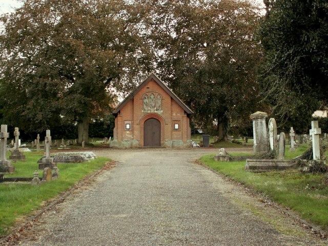 The cemetery at Lavenham