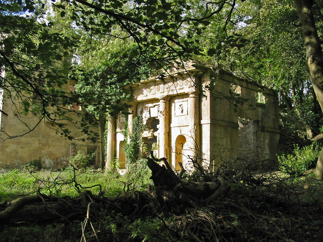 Ruins at Piercefield House