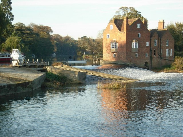River Avon at Fladbury