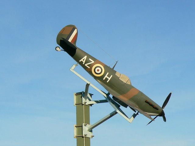 Model Spitfire, Spitfire Way South Marston Swindon