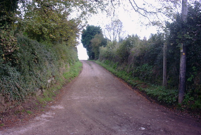 Lane and Public Footpath