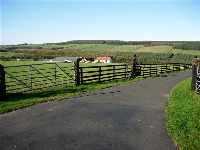 Entrance to Stockley Fell Farm