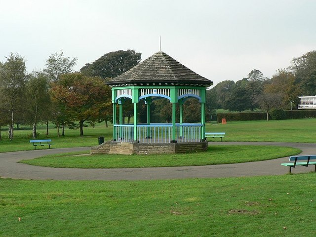 Bandstand, Horsforth Hall Park