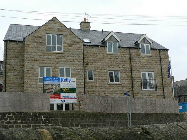 New apartments, Church Road, Horsforth