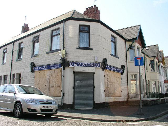 Former shop, Brunswick / Northumberland St, Cardiff