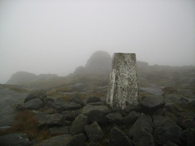 Trig Pillar Ward's Stone