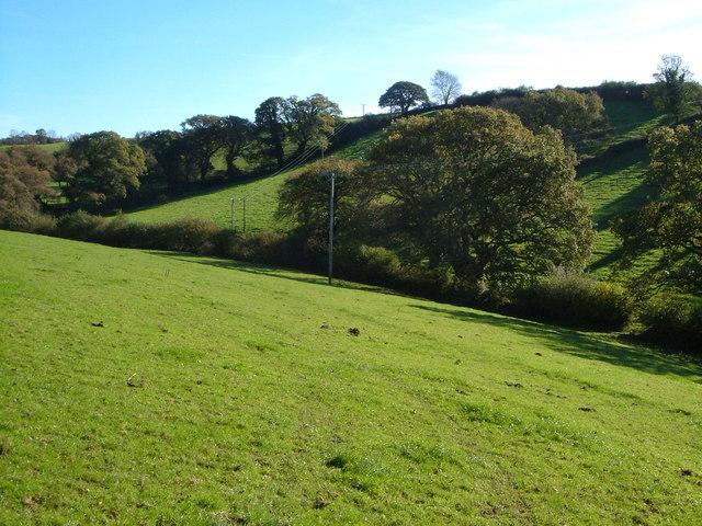 Valley east of Modbury