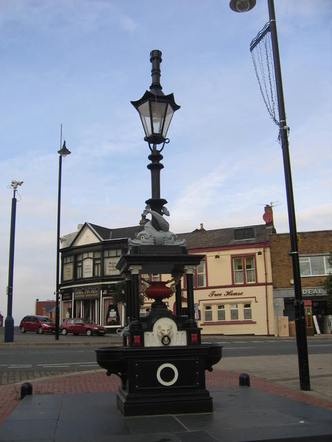 Drinking fountain, Burslem