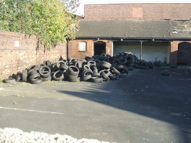 More tyre recycling in Bilston