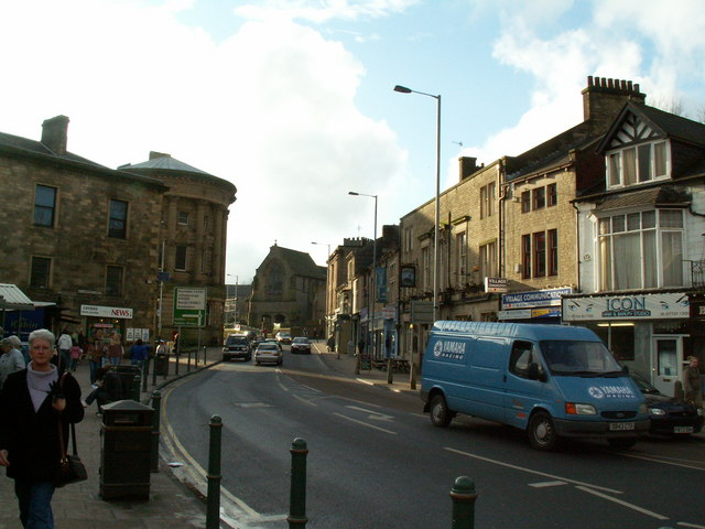 Burnley Road, Todmorden Town Centre