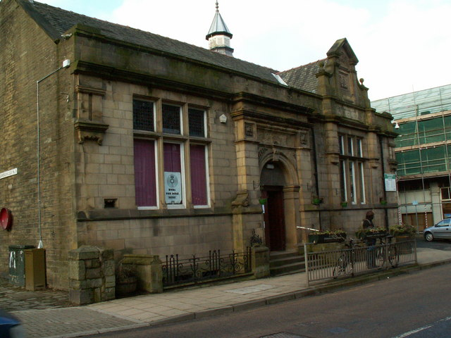 Todmorden Library, Rochdale Road
