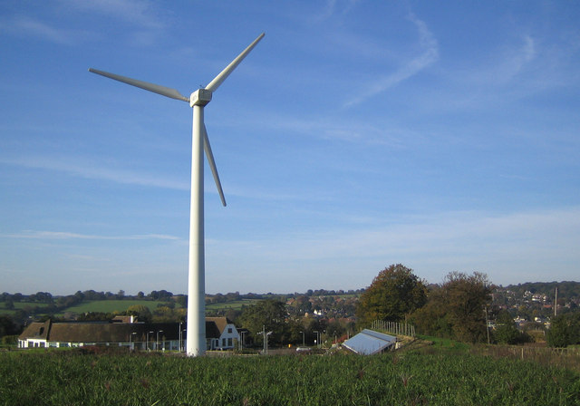 Kings Langley Wind Turbine 169 Nigel Cox Geograph