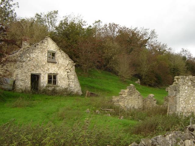 Ruined cottages near Graig Farm