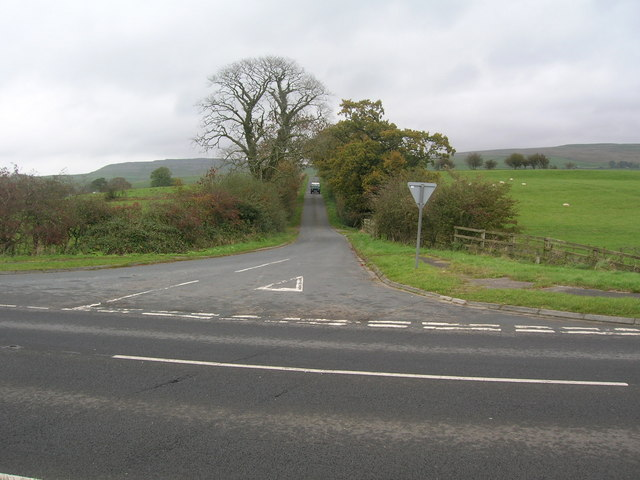 Looking up Green Lane