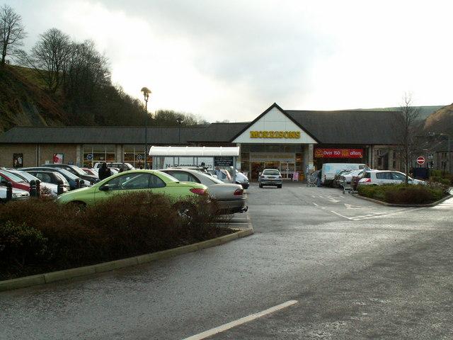 Morrisons Supermarket, Todmorden