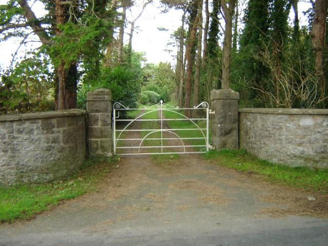 Gates leading to Gwenallt