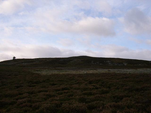 View towards Carn an Eilean