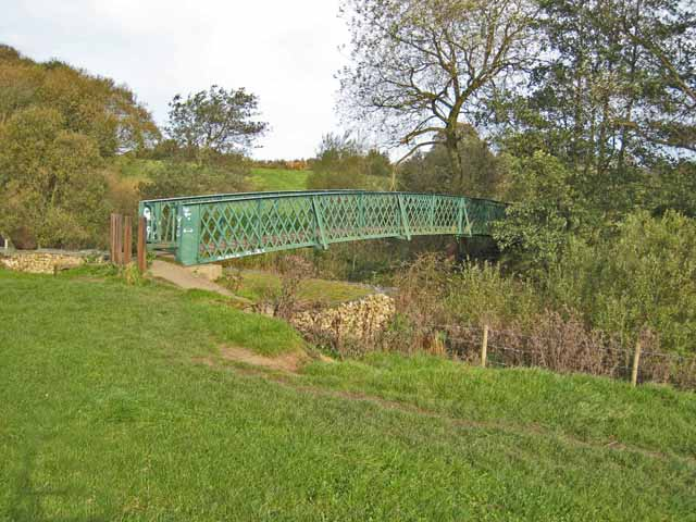 Footbridge over the River Browney