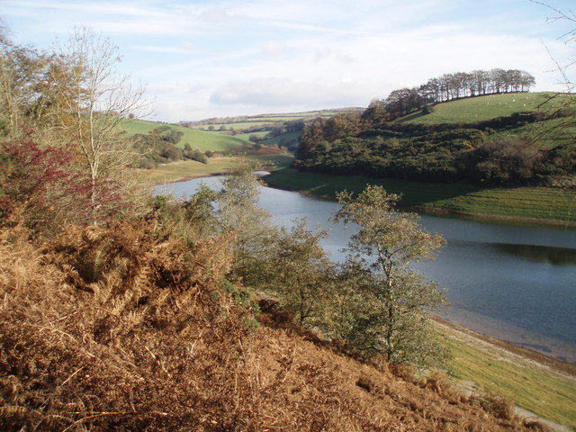 The northern end of Wimbleball Lake