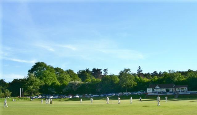 Cricket at Barnt Green