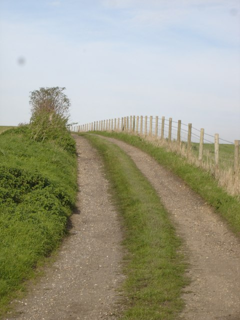 Track to Lower Coombe Farm