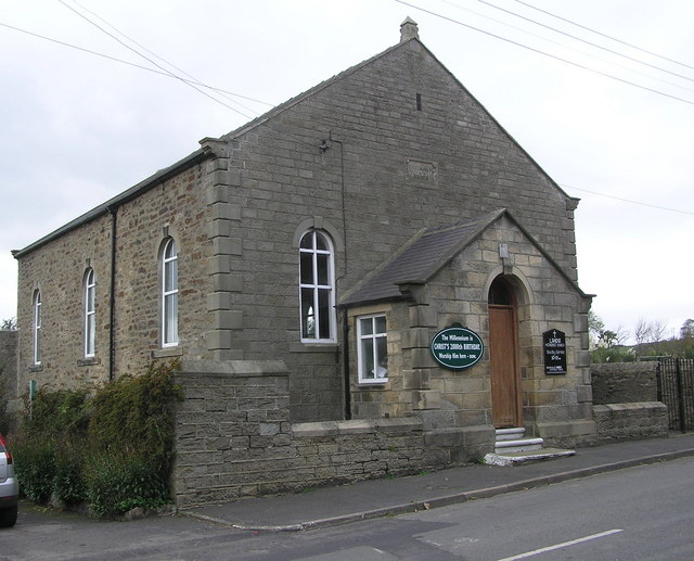 Wesleyan Chapel (dated  AD 1876) : Lands