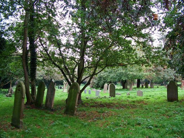 St Nicholas Church Cemetery. Bradwell
