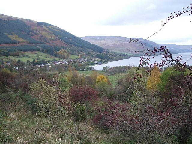 Autumn above Lochearnhead