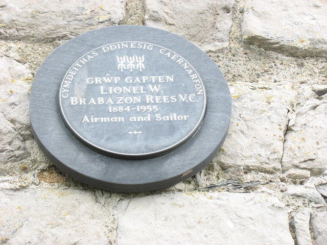 Memorial Plaque for L.W Brabazon-Rees VC, MC