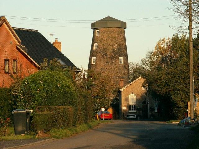 A former windmill at Mill Green