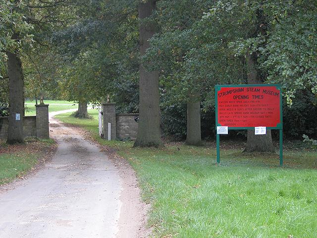 Entrance to Strumpshaw Hall