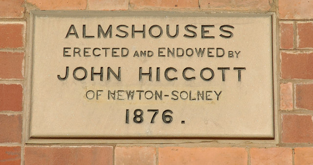 Plaque, Almshouses